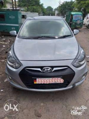 Hyundai Verna diesel  Kms 1.4 fludic Agra number