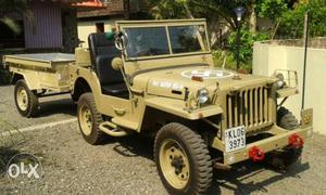 """Willys Bantam model jeep. Short chase (80""""wb on"""