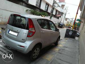 Ritz VDi Model  Silver color Diesel car Bangalore