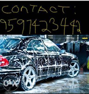 Car wash at cheap price *Body wash+interior
