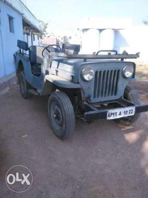Mahindra jeep x4 drive good condition