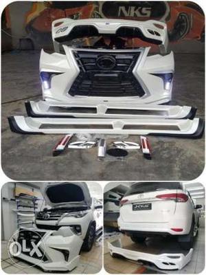 Toyota Fortuner Lexus Bodykit