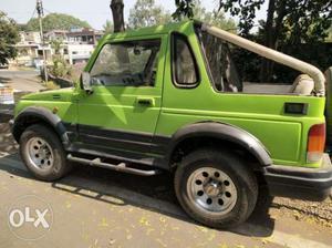 Maruti Suzuki Gypsy, , Petrol