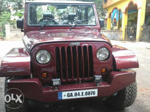 Fully modified mahindra armada jeep. Fitted witha