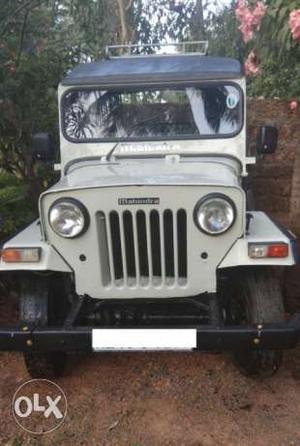 Mahindra DI jeep 4WD