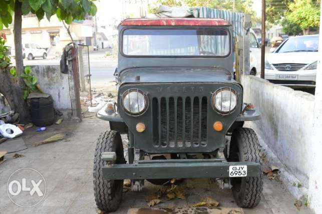 Willys Left hand Drive petrol Vintage Jeep