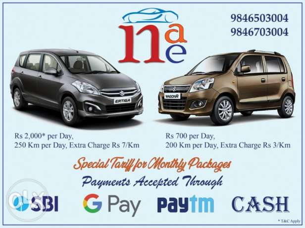 Rent A Car Trivandrum Attingal Varkala