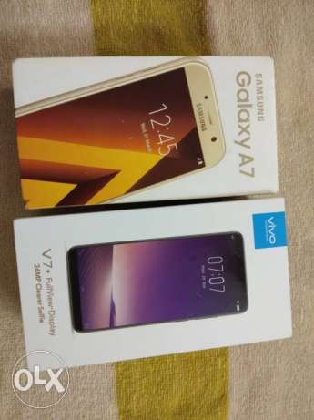 Just 20 days used both phones Samsung Galaxy