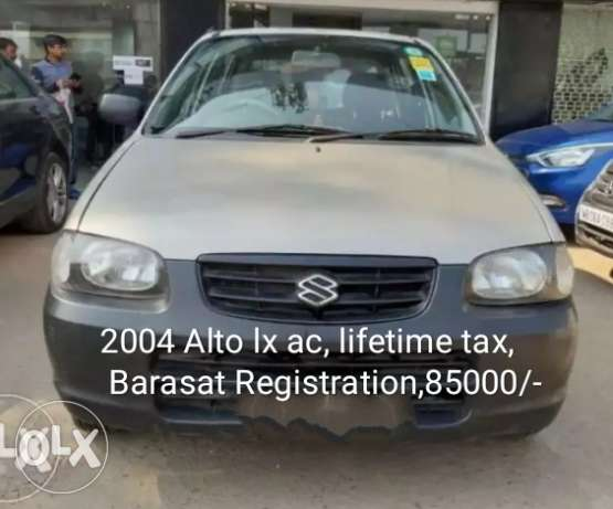 Maruti Suzuki Alto ac, lifetime tax,Barasat Registation