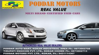 PODDAR MOTORS REAL VALUE Ranchi - Ranchi (Ranchi)
