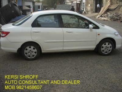 HONDA CITY BUY-SELL KERSI SHROFF AUTO CONSULTANT AND DEALER