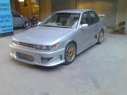 Mitsubishi Lancer With Recently Fitted LPG Kit For Sale -