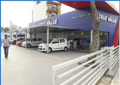 Come to DD Motors Maruti True Value Delhi NCR Car Showroom -