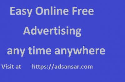 Easy Online Free Advertising in bhilai at adsansar.com -