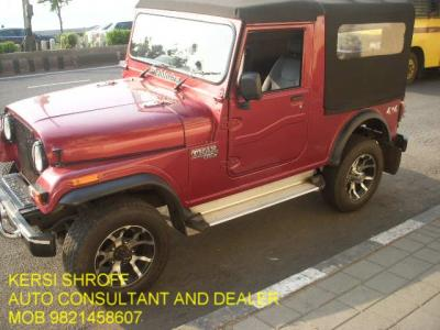 MAHINDRA THAR BUY-SELL KERSI SHROFF AUTO CONSULTANT AND